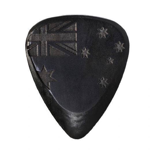 Flag Tones Southern Cross African Ebony 1 Guitar Pick